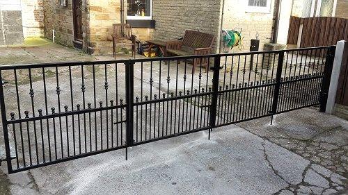 Bi Folding Metal Gates Barnsley Wrought Iron